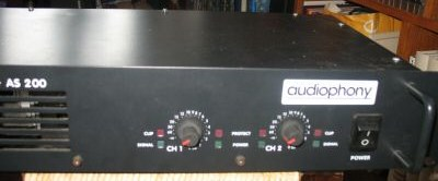 location amplificateur audiophony as-200